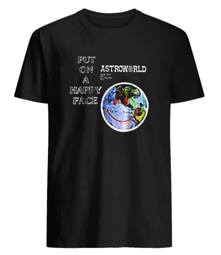 Astroworld PUT ON A HAPPY FACE T-Shirt