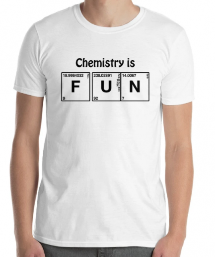 Chemistry is fun Short-sleeve Cotton T-Shirt for Men