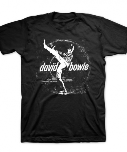 David bowie The Man Who Sold The World Black T-Shirt