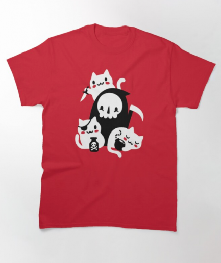 Deaths Little Helpers Classic Red T-Shirt