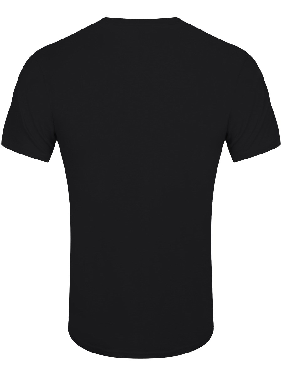 IT'S NEVER TOO EARLY FOR HALLOWEEN MEN'S BLACK T-SHIRT