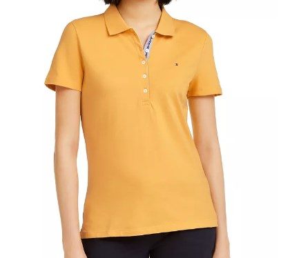 Logo Embroidered Polo T-Shirt