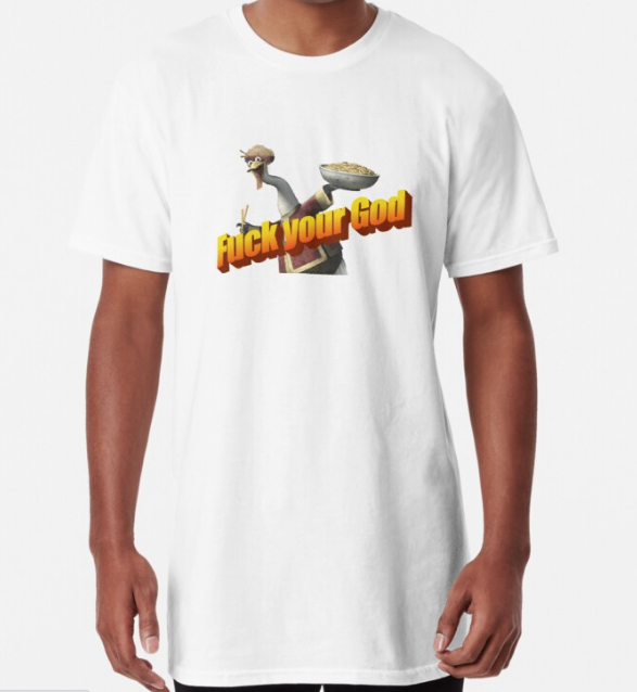Mr. Ping is your God now Classic White T-Shirt