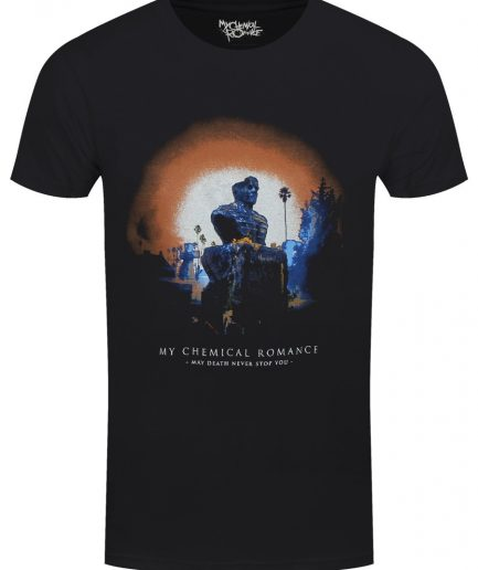 Romance May Death Cover Black T-Shirt