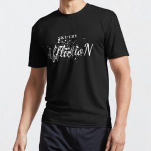 Affliction Sky Cry Fitted Scoop T-Shirt