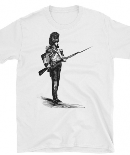 Soldier with a Bearskin and a Gun Unisex T-Shirt