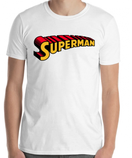 Superman Cool Printed White T-Shirt For Men's