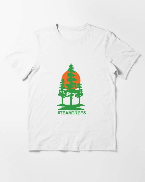 Team Trees Official Logo Classic White T-Shirt