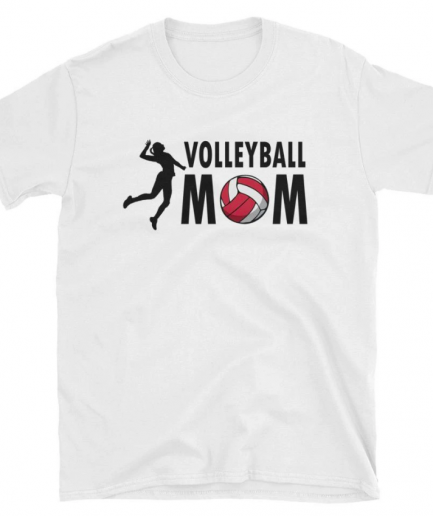 Volleyball Mom Short-Sleeve cotton T-Shirt for Men