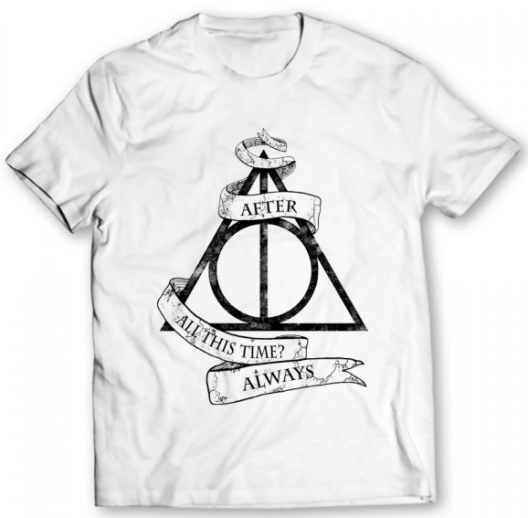 After All This Time Always Printed White T-Shirt