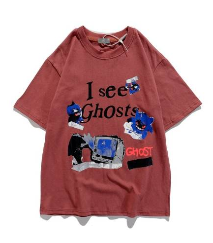 Kanye West I See Ghosts Casual Men Oversized brown T-Shirt