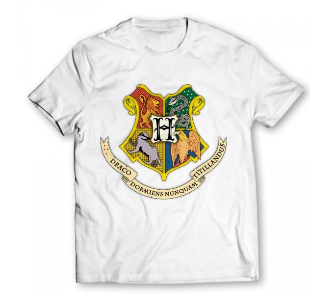 Harry Potter Graphic White T-Shirt