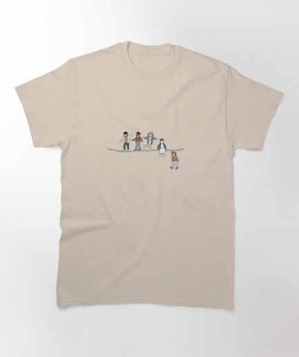 The Acrobats and the Fleas Beige T-Shirt