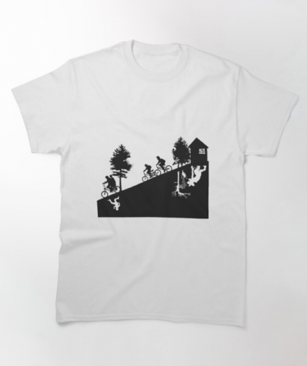 The Upside Down Classic White T-Shirt
