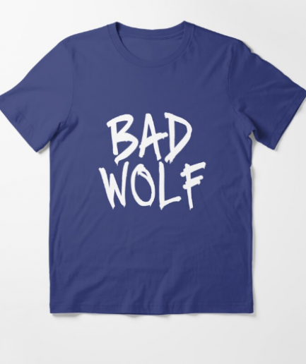Bad Wolf Casual Blue T-Shirt