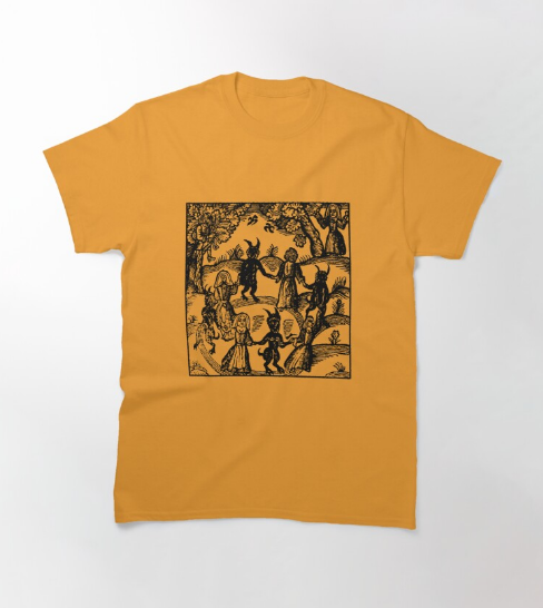 Dance With The Devil Yellow T-Shirt