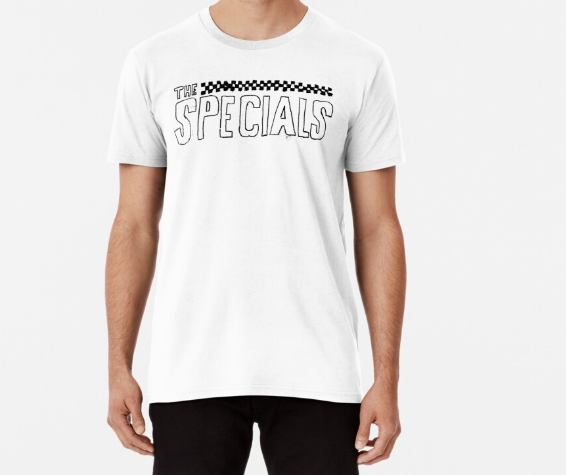 The Specials Casual White T-Shirt for Men's