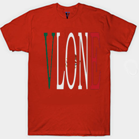 VLONE Mexico Staple Red T-Shirt