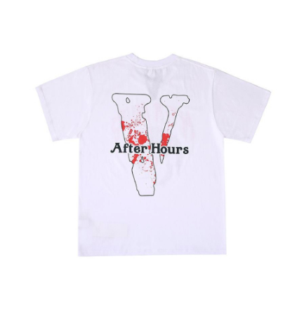 Vlone x After Hours Afro White T-Shirt