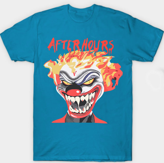 Vlone Weeknd After Hours If I OD Clown Blue Tee