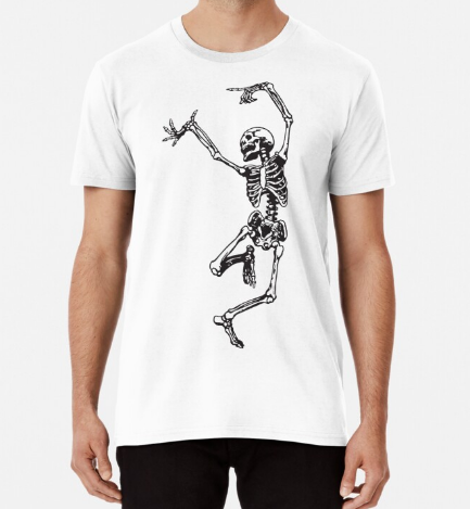 Dance With Death Classic T-Shirt For Men