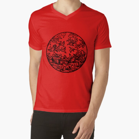 Casuals man Red T-Shirt