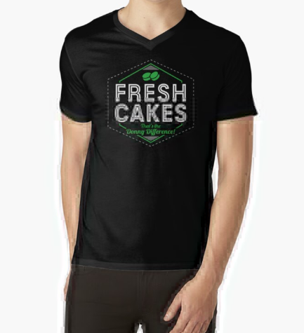 Fresh Cakes That's The Donny Difference Black T-Shirt