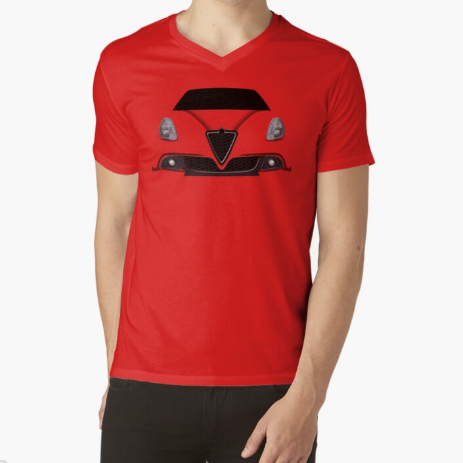 Italian passion Fitness Red T-Shirt