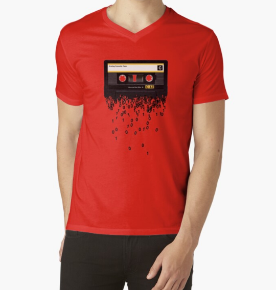 The death of the cassette tape Red T-Shirt