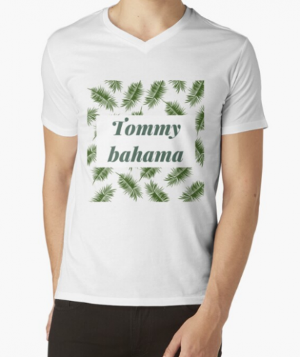 Tommy bahama Men's Graphic White T-Shirt