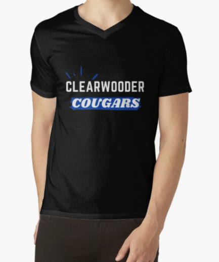Vintage Clearwooder nice Classic Black T-Shirt