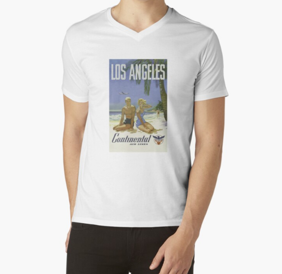 Vintage Los Angeles poster White T-Shirt
