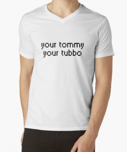 Your tommy your tubbo Men's White T-Shirt