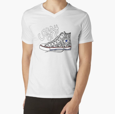 Carry On Sneaker Fitness Men Essential off-white T-Shirt
