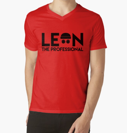 Leon The Professional Red T-Shirt Men