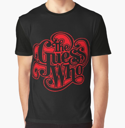 The Guess Who Graphic Black T-Shirt For Men