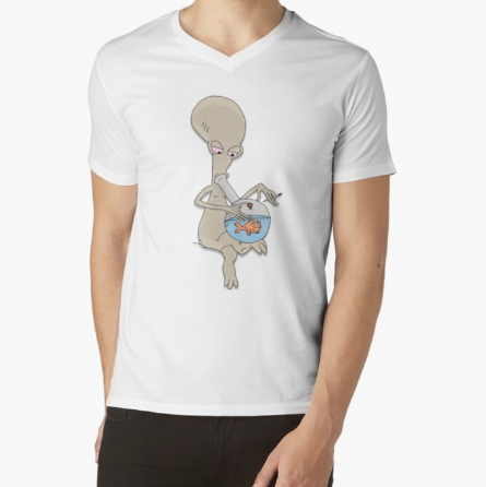 Roger Smoking' Up Classic T-Shirt For Men