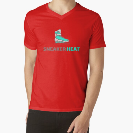 Sneaker Heat For Sneaker Heads Classic Red T-Shirt