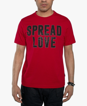 Spread Love Classic Red T-Shirt For Men