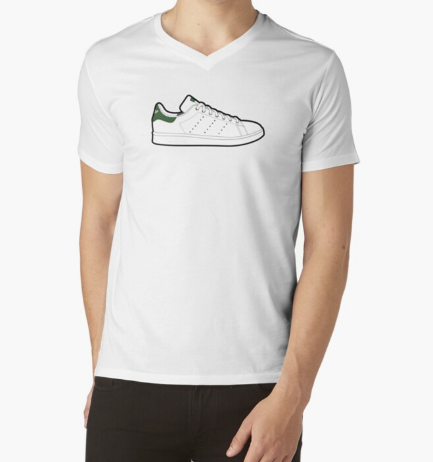 Stan Smith Sneakers Men Essential White T-Shirt