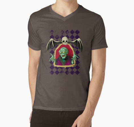 Tales From The Crypt Keeper Men Dark Gray T-Shirt