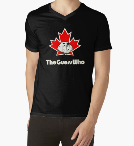 The Guess Canadian Beaver Who Black T-Shirt For Men