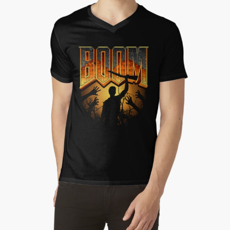This is my Boomstick Essential Black T-Shirt for Men