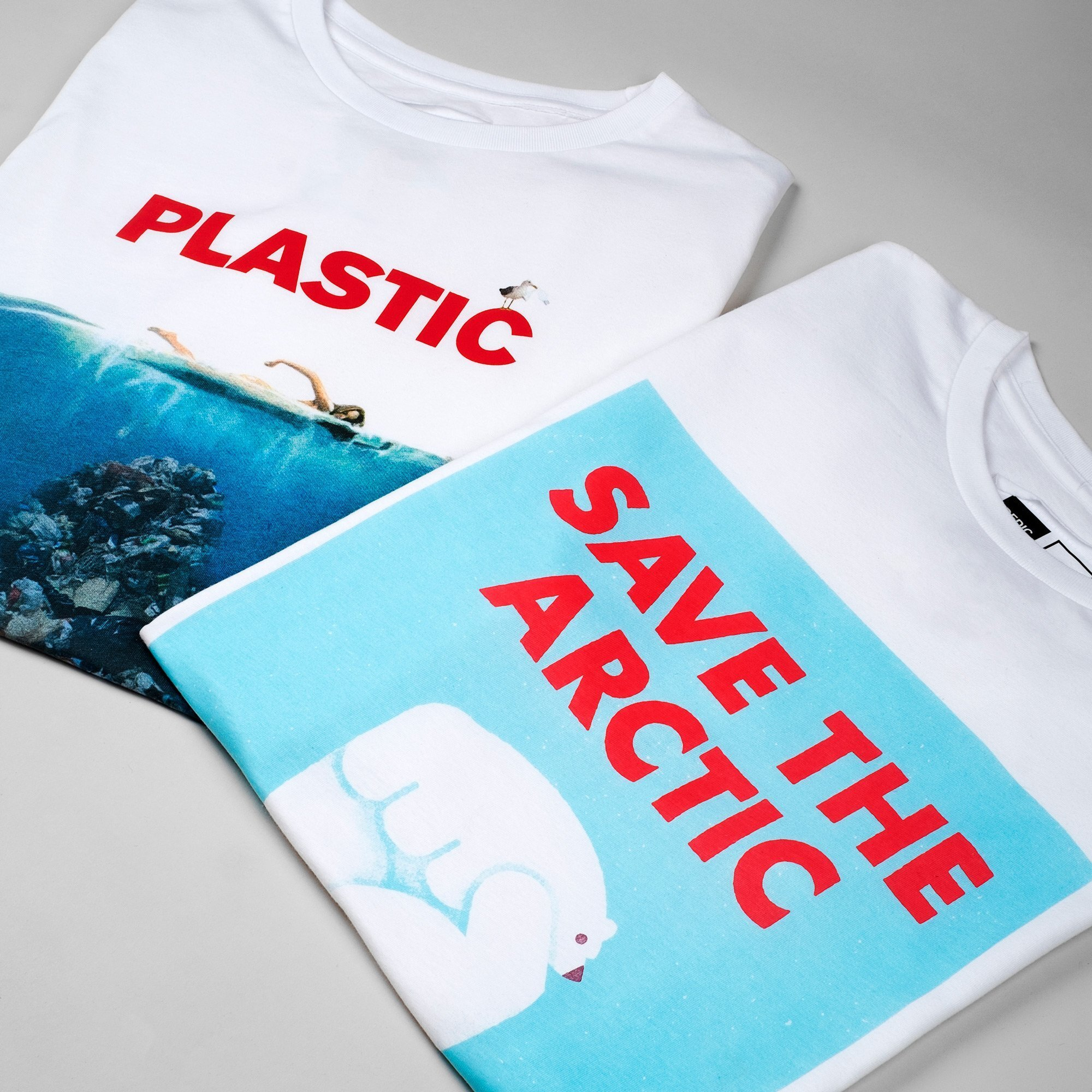 Save the Arctic White T-shirt