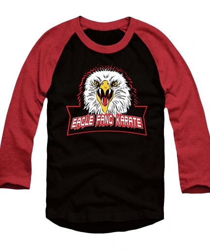 Eagle Fang Karate Black And Red Long Sleeve T-Shirt