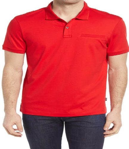 Men's Polo Red T-Shirt