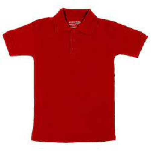 Kids Red Polo T-Shirt