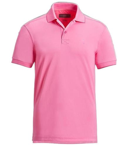 Men's Casual Polo Pink T-Shirt
